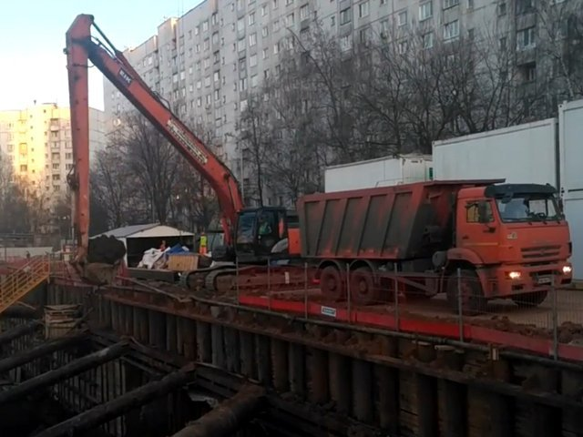 Hitachi ZX200 Long Reach